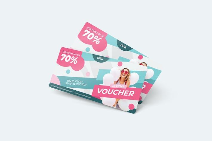 Thumbnail for Woman Fashion Gift Voucher Card