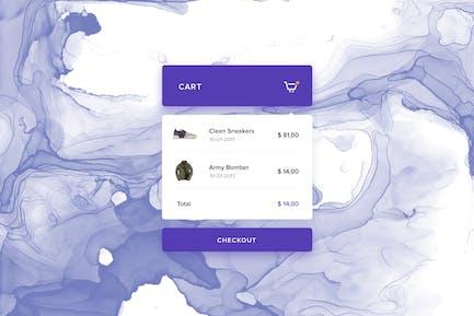 eCommerce - Cart Preview Widget