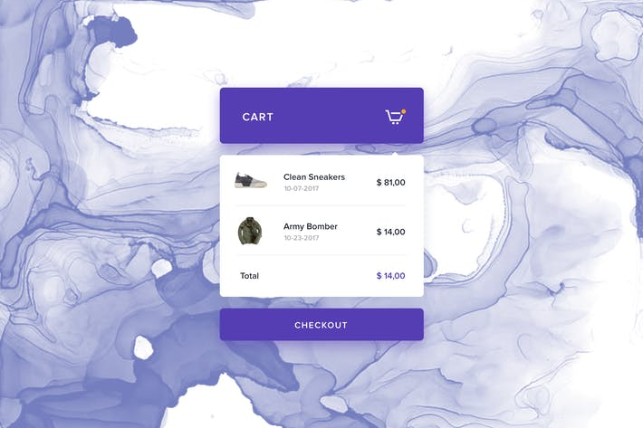 Thumbnail for eCommerce - Cart Preview Widget