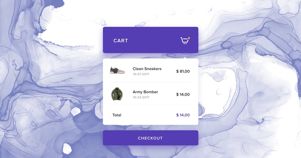 Download eCommerce - Cart Preview Widget by cerpow