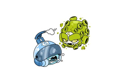 Corona vs Soap - Character RG