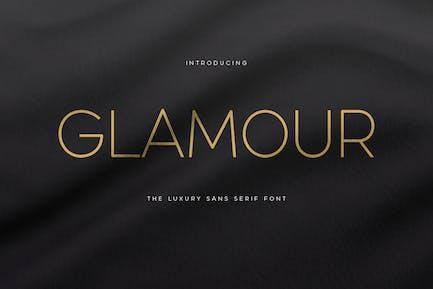 GLAMOUR - Luxury Sans Serif Font