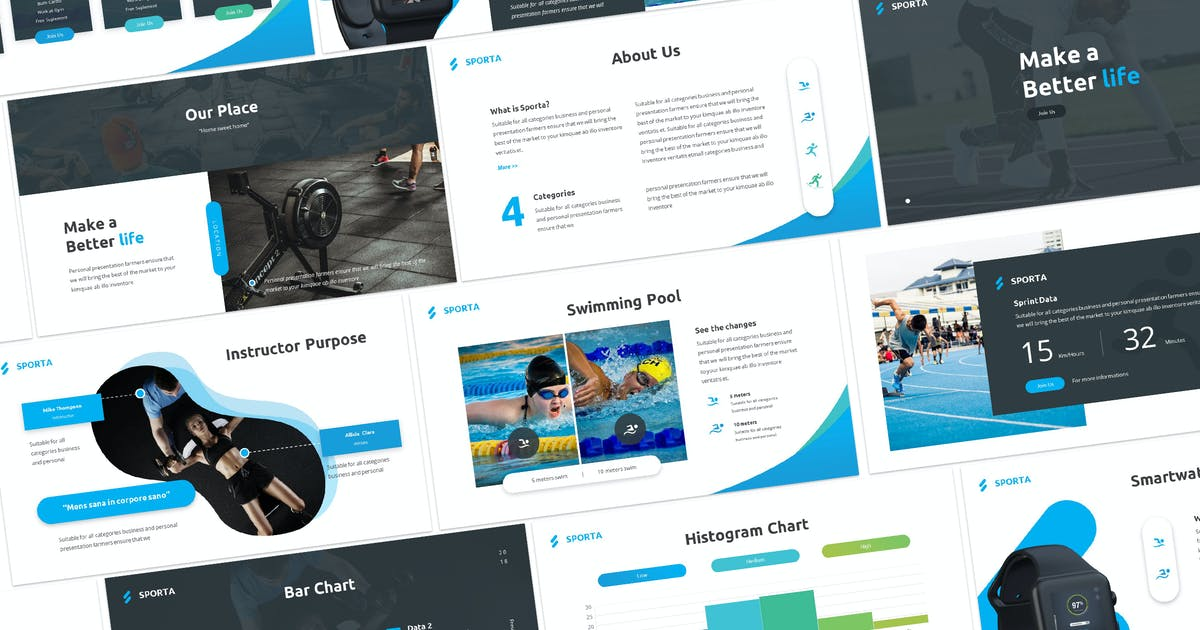 Download Sporta - Keynote Presentation Template by Unknow