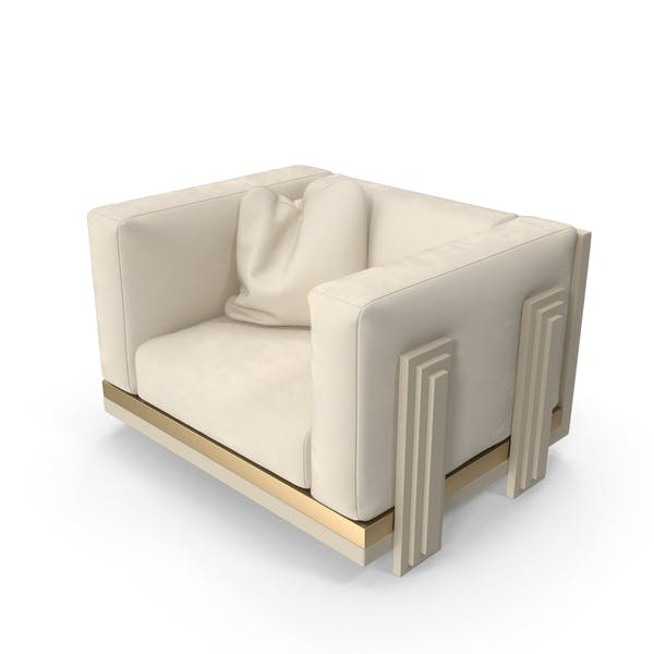Cover Image for Beige Armchair
