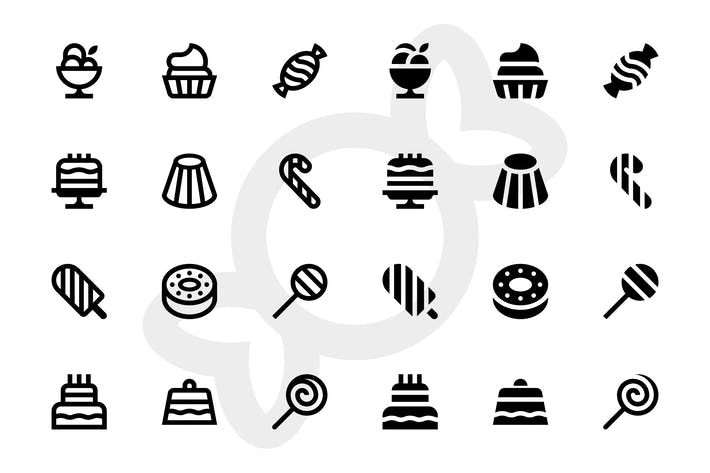 Thumbnail for Dessert icons