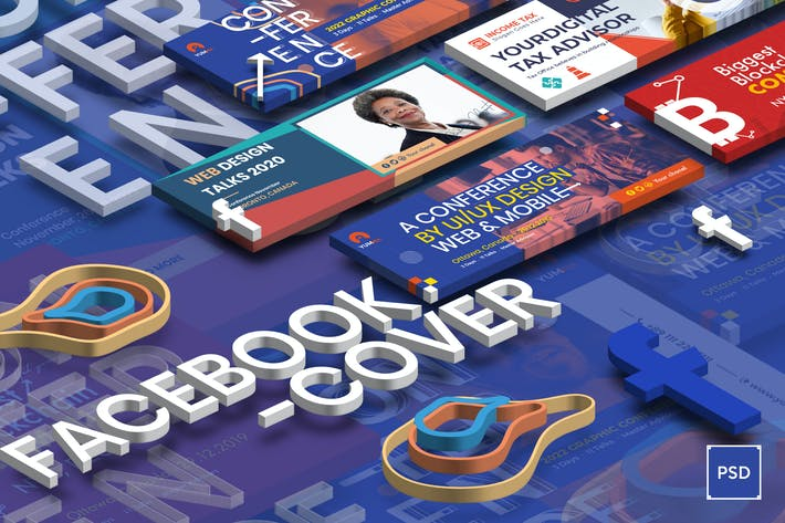 Thumbnail for Event Conference, Tax Income Facebook Cover