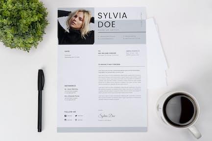 Minimalist Concept CV Resume