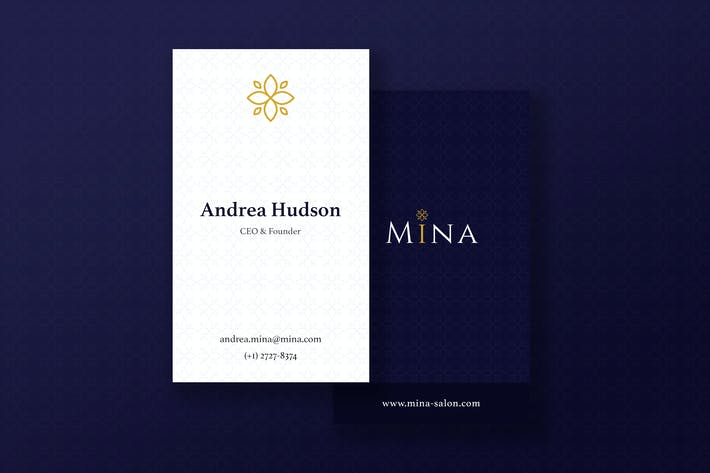 Thumbnail for Mina Beauty - Business Card
