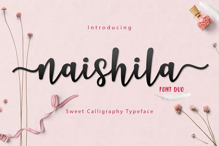 Naishila Font Duo