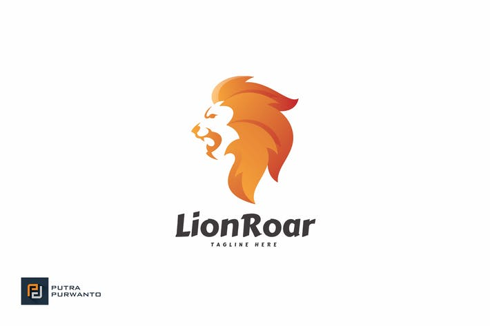 Thumbnail for Lion Roar - Logo Template