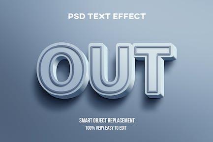 Blue pastel text effect
