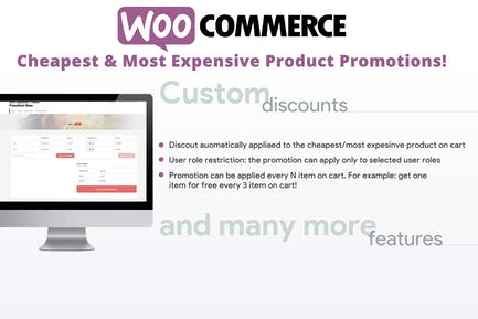 Cheapest & Most Expensive Product Promotions