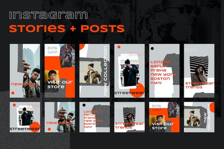 Instagram Posts + Stories (Vol.17)