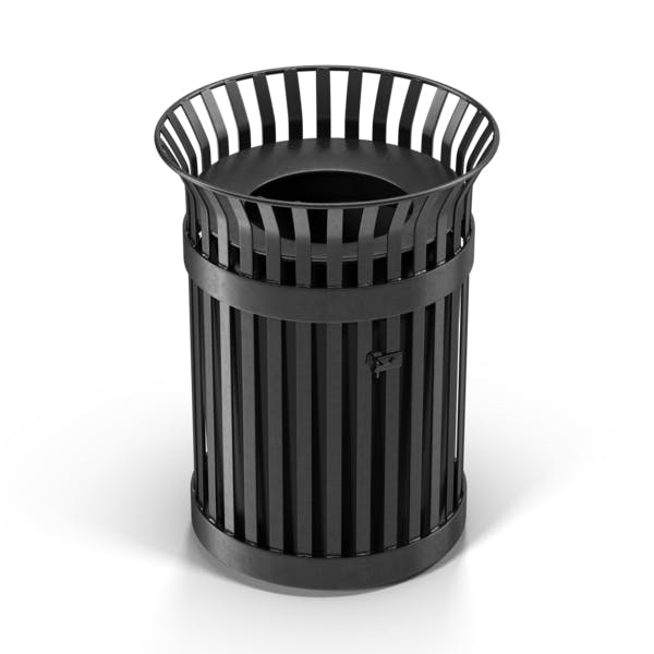 Thumbnail for Metal Trash Can