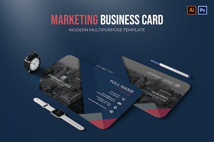 Thumbnail for Marketing - Carte de visite