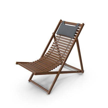 Beach Chair with Pillow