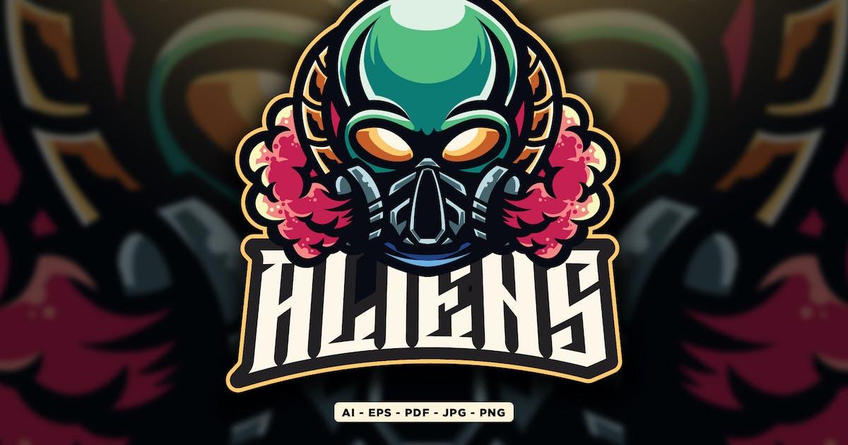 Download Alien Logo Mascot Design by sandewo