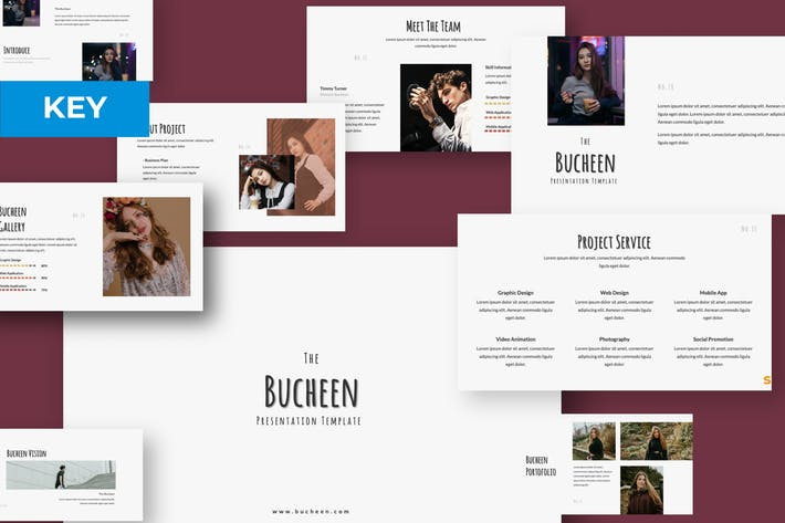 Cover Image For BUCHEEN Keynote Template