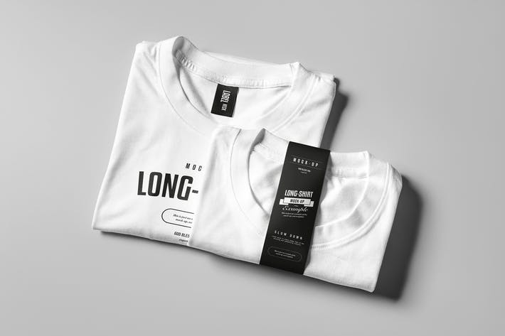 Cover Image For Long Shirt Mock-up