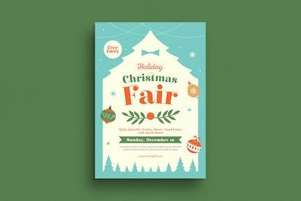 Holiday Christmas Fair Flyer
