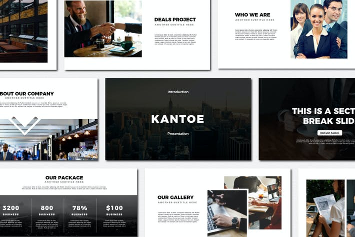 Thumbnail for Kantoe - Powerpoint Templates