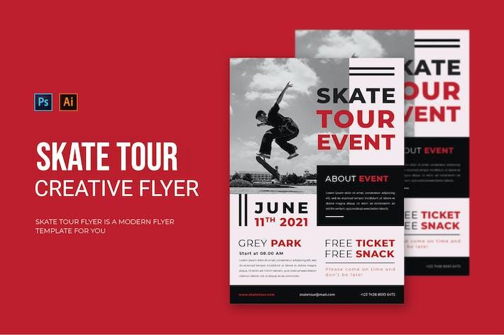 Skatetour - Flyer