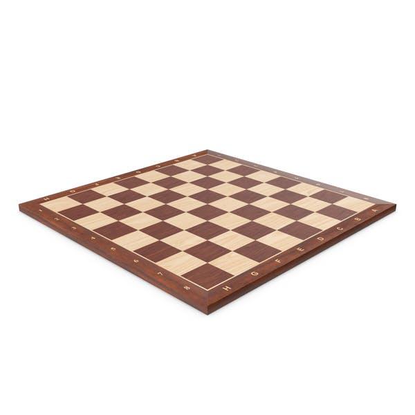 Wooden Chessboard Velvet Green