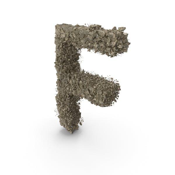 Thumbnail for Destruction Stone Letter F