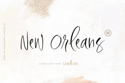New Orleans - Stylish Script