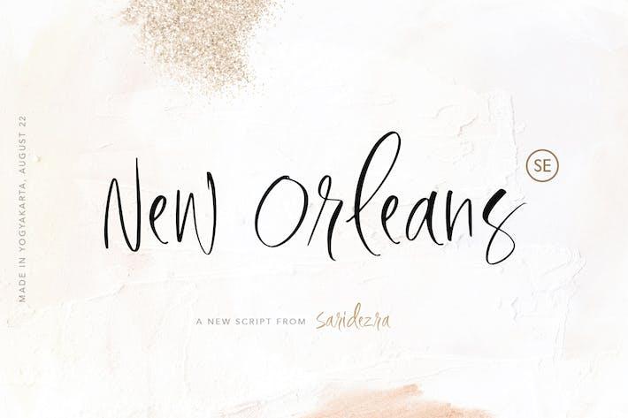 Thumbnail for Nueva Orleans - Guión con estilo