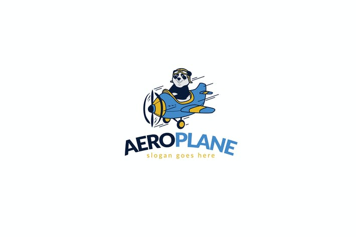 Thumbnail for Panda Aeroplane Logo