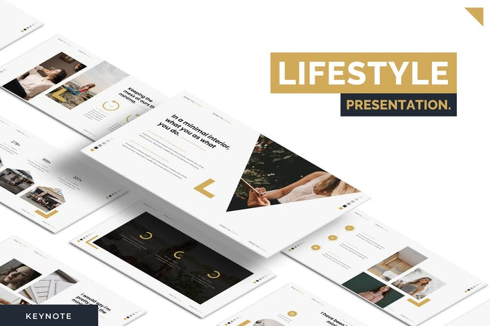 Thumbnail for Lifestyle - Keynote Template