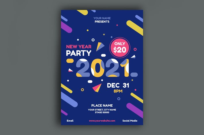 Thumbnail for New Year Poster