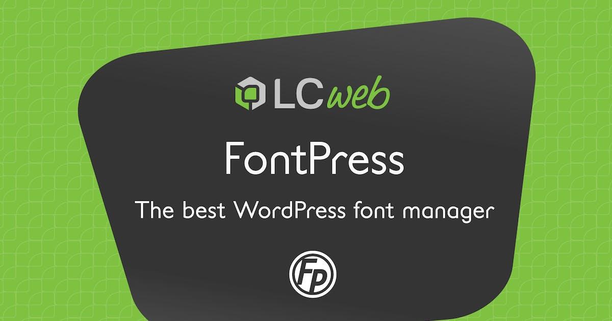 Download FontPress by LCweb