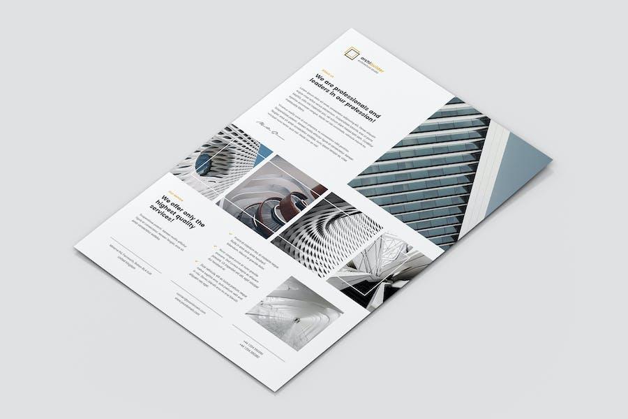 Flyer – Architect and Builder Portfolio
