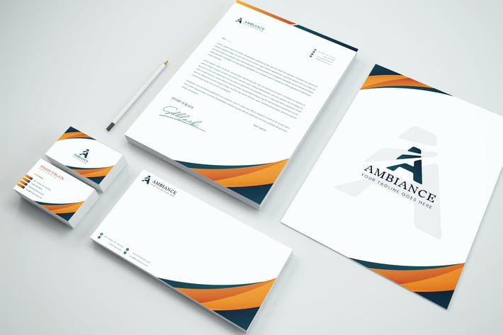 Thumbnail for Business Brand Identity