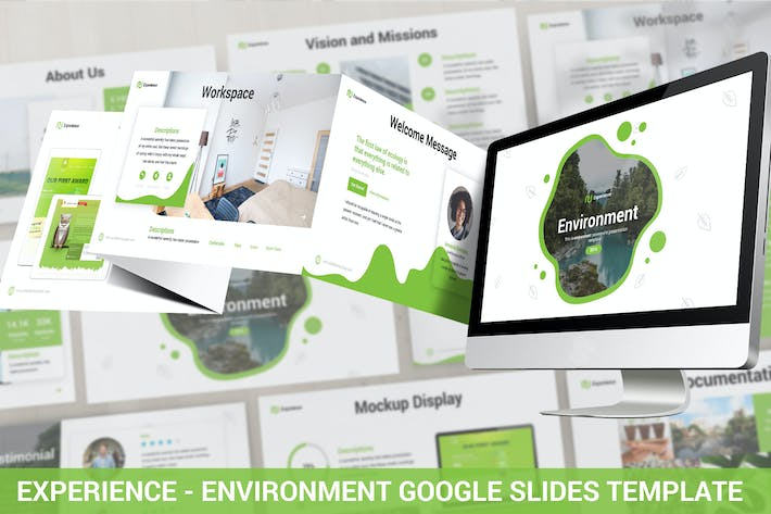 Thumbnail for Experience - Environment Google Slides Template