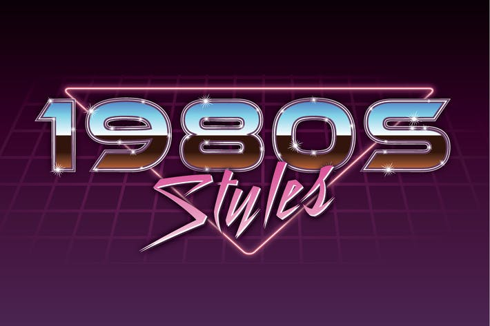 Thumbnail for 1980s Graphic Styles