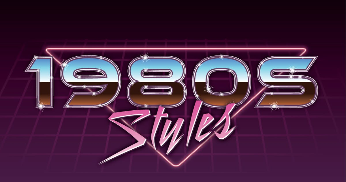 Download 1980s Graphic Styles by JRChild