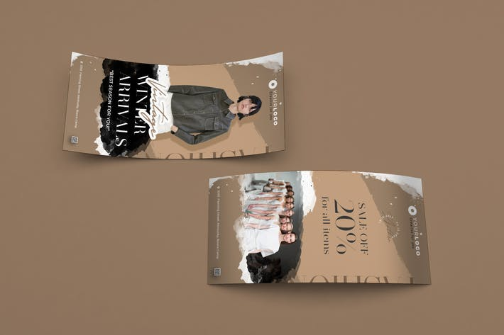 Thumbnail for Creative Fashion Sale DL Rackcard PSD Template