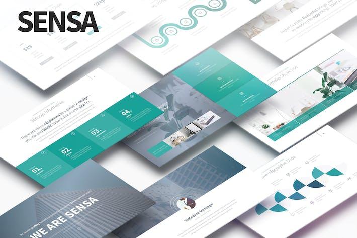 Thumbnail for SENSA - Multipurpose PowerPoint Presentation