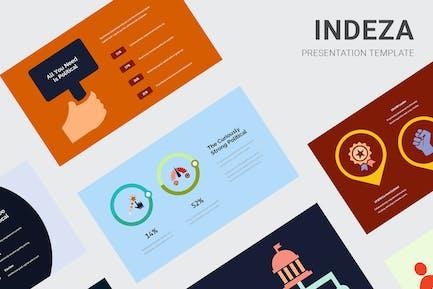 Indeza - Political Infographic Keynote