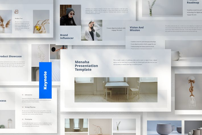 Thumbnail for Menaha - Шаблон презентации Keynote