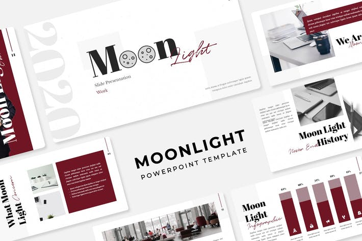 Thumbnail for Moonlight - PowerPoint Template
