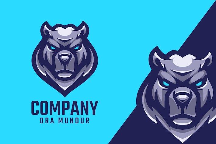 Thumbnail for Bear Logo Mascot