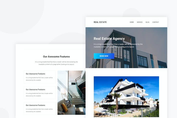 Thumbnail for Real Estate - Email Newsletter