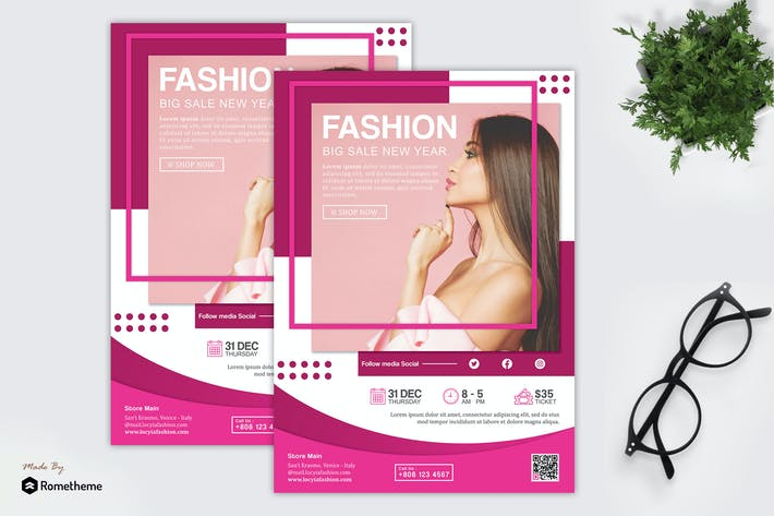Thumbnail for Locyia - Fashion and Sale Flyer HR