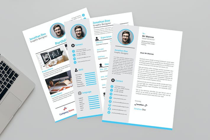 Download 14165 Design Resume Templates