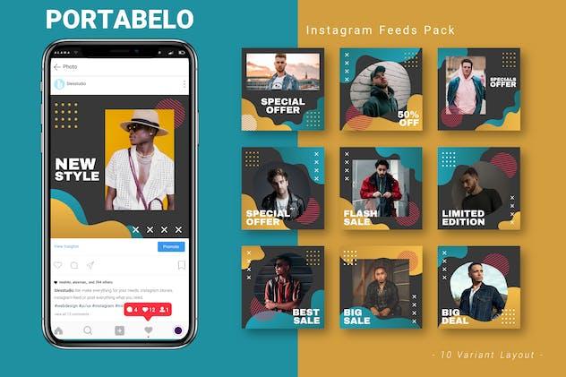 Portabelo - Instagram Feed Pack