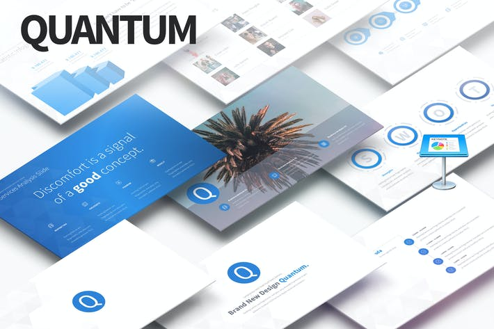 Thumbnail for Quantum - Multipurpose Keynote Presentation